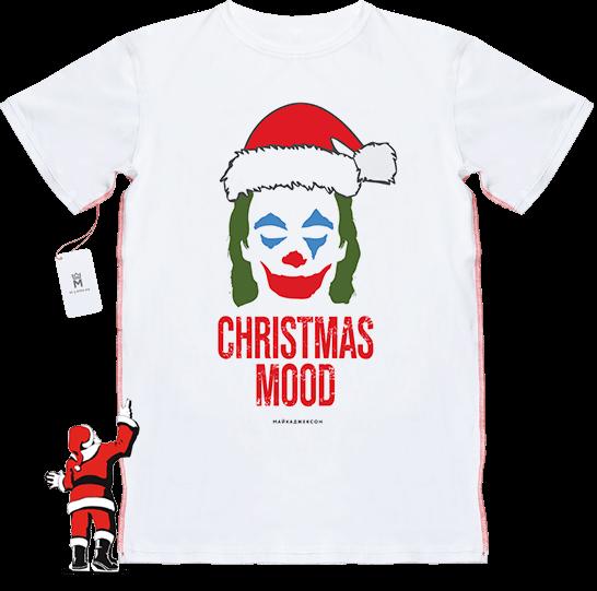 МАЙКАДЖЕКСОН - Christmas Mood – Joker (новогодняя футболка)